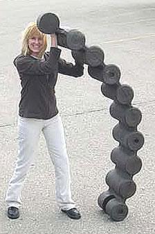 Playground Borders Flexible Log